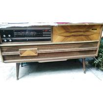 Consola Radio Stenius Vinilos Radio Am Y Fm