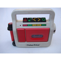 Reproductor Cassettes Fisher Price Micrófono Vintage 1987