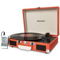 Tornamesa Crosley Tocadiscos Vinyl Naranja Entrega Inmediata