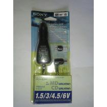Cargador Bateria Eliminador Sony Discman Minidisc Walkman