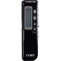 Grabadora De Voz Digital Con 4 Gb Coby Cvr20 270 Horas Rec