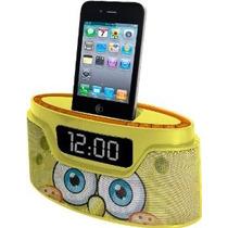 Nickelodeon Bob Esponja Ipod Radio Reloj (50262c-iph)