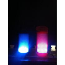 Bocina Amplificada Bluetooth ,usb ,radio Fm Con Iluminación