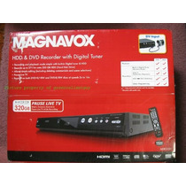 Magnavox Mdr513h/f7 320gb Grabador Dvd Quemador Disco Duro