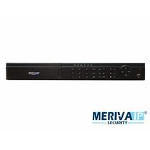 Nvr Cip 16ch Video Meriva Mnvr-3816 8-poe 1080p 3mp