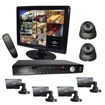 Kit De Camaras Video Vigilancia Circuito Cerrado Seguridad