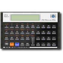 Hp - Calculadora Financiera Platinum 12 C
