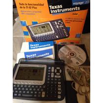 Calculadora Y Graficadora Voyage 200 Texas Instruments