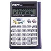 Calculadora Sharp El-480srb 10-digit Twin Powered Basic