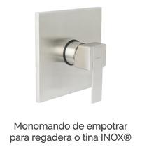 Monomando De Empotrar Para Regadera O Tina Urrea 9472 Inox