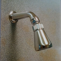 Brazo Regadera Italiano Con Regulador De Agua D37