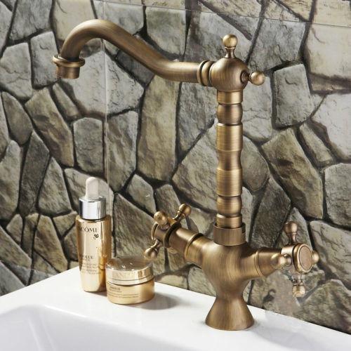 Griferia Baño Antiguo: Baño O Cocina Mezcladora Acabado Antiguo – $ 1,73720 en MercadoLibre