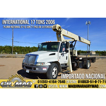 Grua Titan 17 Tons Camion International 2006 Gruas Titan