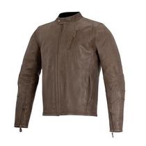 Chamarra De Piel Monty L Alpinestars Motos 7602-1264