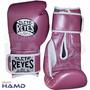 Guante Cleto Reyes Rosa Con Velcro 12 Y 14 Oz