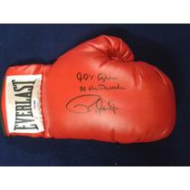 Guante Autografiado Firmado Roy Jones Jr. Box Boxeo Everlast