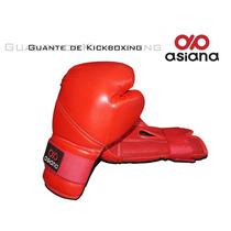 Guante De Kickboxing Asiana Entrenamiento Seguro -rojo -xxl