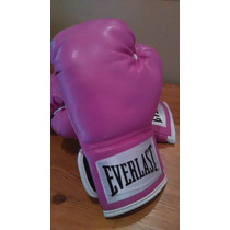 Guantes Everlast Rosa 12 Oz Mujer