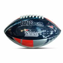 Balón Junior Wilson Patriots Nfl Logo Team Ug_varios Modelos