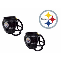 Casco Nfl Pittsburgh Steelers Combo 2 Cascos Cerveceros