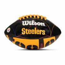 Balón Junior Wilson Steelers Nfl Logo Team Ug_varios Modelos