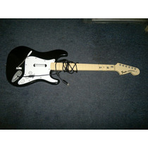 Guitarra Fender Stratocaster,xbox 360,exclusiva Rockband.