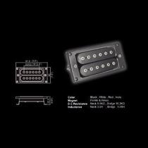 Pastilla Belcat Para Guitarra Electrica Bh-27/n P/brazo