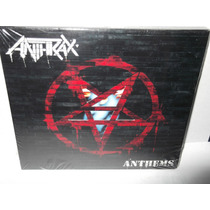 Anthrax Cd Anthems Vv4 Thrash Slayer Megadeth Metallica