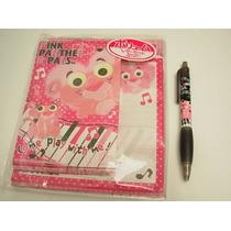Lote De Kit D Cartas Y Lapicero D Pink Panther Baby Pantera