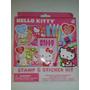 Set De Calcamonias, Sellos Y Marcadores Hello Kitty! Nuevo