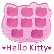 Molde De Silicon Con Figuras Hello Kitty Grande