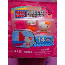 Hello Kitty Set De Figura Con Barco De Mega Blocks