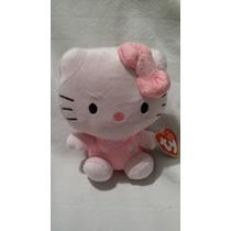 Peluche Beanie Babies Ty Hello Kitty! Navidad