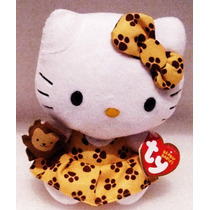 Peluche Hello Kitty Vestido Amarillo Ty Sanrio
