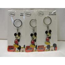 Mickey Mouse Fiestas Llaveros Lote 18 Piezas Recuerdos