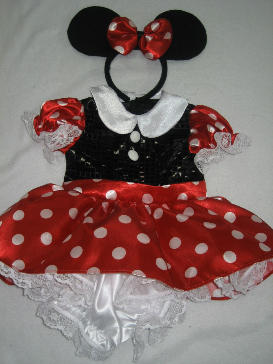 Hermosos Vestidos Inspirados En Disfraz Mimi Minnie Mouse ...