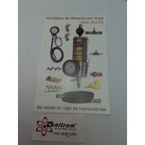 Boya Metalica Con Manometro Para Lavado De Inyectores