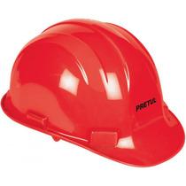 Casco De Seguridad Color Rojo Pretul