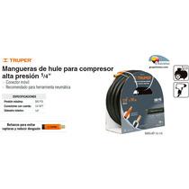 Manguera Para Compresor Alta Presion 1/4 10 M Truper Dizome