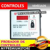 Probador De Controles Y Detector De Frecuencia Automotriz Ir