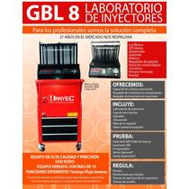 Laboratorio De Inyectores Con Ultrasonido 8cil Con Liquidos