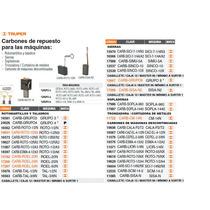 Carbones De Repuesto Para Cepillo Cepel-2-3/8n
