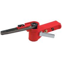 Belt Sander - Aire Con 3 Cinturones De Lija 10mm Pulidora
