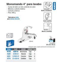 Monomando Para Lavabo De 4 Aero