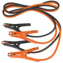 Cables Pasa Corriente 3 Metros Con Funda Truper 17543