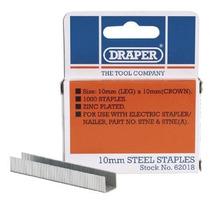 Grapas - Draper 62018 10mm (1000) Herramientas De Grapado