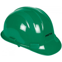 Casco De Seguridad Color Verde Pretul