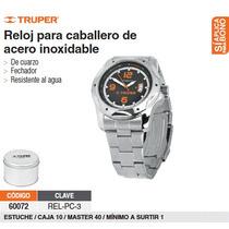 Reloj Promocional P/caballero Acero Inoxidable