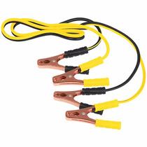 Cables Pasa Corriente 2 Metros Calibre 10 Con Funda 22807