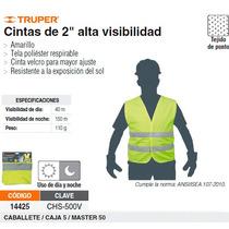 Chaleco De Seguridad Alta Visibilidad Verde